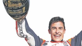 MotoGP seri XV, Motegi, Jepang hadiah kematangan Marquez
