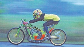 Kawasaki Ninja 150R 2003, gedein exhaust kunci juara
