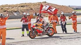 MotoGP seri XIV Aragon, Spanyol,  judi besar Marc Marquez