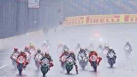 WSBK seri X, Lausitzring, Jerman, hujan bawa area tetap menjauh