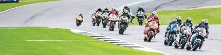 MotoGP seri XII, Silverstone, Inggris, cuaca dingin bawa vinales juara
