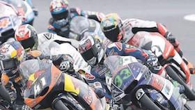 Moto3, seri XII, Silverstone-Inggris, jarak aman binder