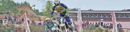 Kejurnas motocross, seri VIII, Aceh Timur, saatnya pembalap lokal bertarung