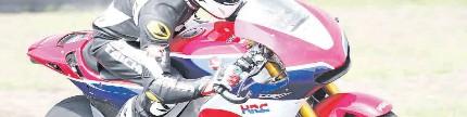 Test ride Honda RC213V-S, tiga lap bersama pacuan MotoGP