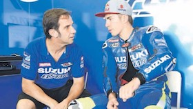 Orang penting di MotoGP - Davide Brivio, permata Yamaha yang berkilau di Suzuki