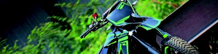 Kawasaki D-Tracker X 250 2008, kejar street legal