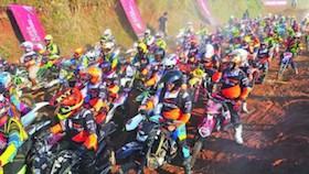 Variasi MX adventure, Purwakarta, dibanjiri artis dan 2.500 peserta