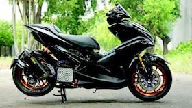 Yamaha Aerox 155 VVA 2017, special untuk motor sendiri
