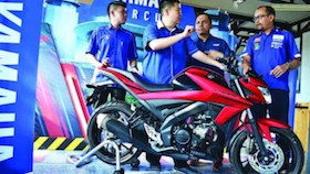 Regional launch Yamaha All New V-ixion R, cuma naik 5 cc performa melonjak!