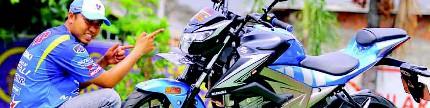 Suzuki GSX-R150 jadi GSX-S150, sport jadi turing