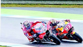 MotoGP seri XV, Motegi - Jepang, mengerucut dua nama