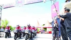 Honda Bikers Day 2017, pecah di Yogyakarta