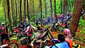 Adventure Lembang, peringati HUT dua instansi