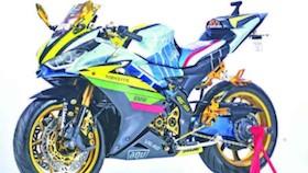 Yamaha YZF-R15 2015, R25 siluman ala VR46 lovers