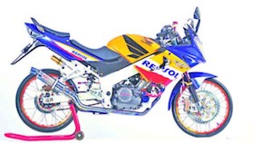 Honda CBR150R 2008, pure sport thailook