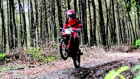 Honda fun off-road turing, ngajak main CRF 150L