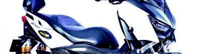Yamaha XMAX 250 2017, tampang kece, mesin 310 cc!
