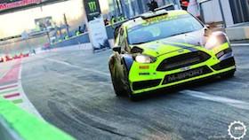 Rally Monza 2017, kena penalti, Rossi tetap juara