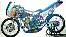 Kawasaki Ninja 150R 2009, melena yang doyan jeje'es