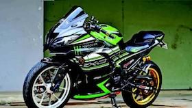 Kawasaki Ninja 300 2016, usai crash malah makin hedon!