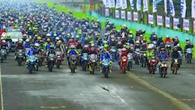 Suzuki Bike Meet 2018, pembalap MotoGP dikeroyok 3.000 loyalis Suzuki