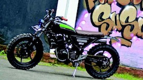 Kawasaki Ninja 250R 2009, buat belanja susu