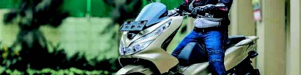 Test Ride All New Honda PCX 150, nyaman riding siang malam