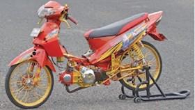 Honda Karisma 125 2003, bukti cinta suami ke istri
