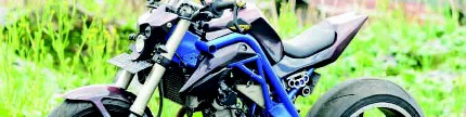 Yamaha New V-ixion Lightning 2015, finishing pakai cat siluman