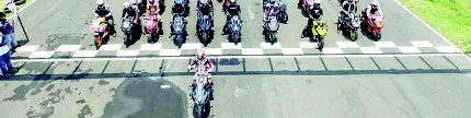 Track Day Honda CBR Community, total control menikmati sirkuit Bung Tomo
