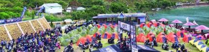 Yamaha Maxi Day 2018, Medan, motocamp di pinggir Danau Toba