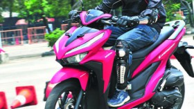 First Ride All New Honda Vario 150, tampang sporty, tarikan tetap halus