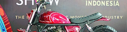 Suzuki Thunder 250 2005, hoki diduduki Pak Jokowi