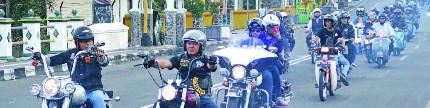 Buko Cakil Bagi Takjil 2018, semarak ribuan bikers