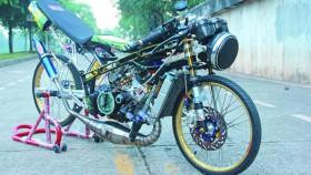 Kawasaki Ninja 150R 2001, proyek mangkrak 20 bulan