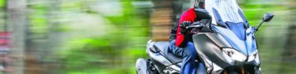 Test ride Yamaha TMAX DX, si bongsor yang easy handling