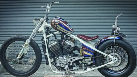 Honda Steed 400, tribute to U53 custom