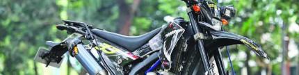 Yamaha WR250X 2014, tampan kalem sudah sampai Flores