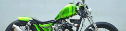 Kawasaki W175 2018, pangling dalam satu bulan