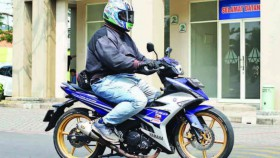 Seting Sok Yamaha MX-King, untuk si endut