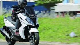 Test Ride Kymco K-XCT 200i, big skubek untuk riding harian
