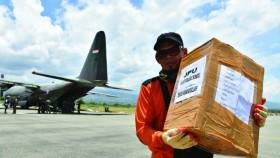 Bersama TNI AU kirim 20 ton bantuan peduli Palu