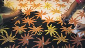 Indahnya Batik Khas Cepu-Blora, dari motif pohon jati sampai sate
