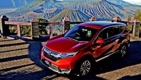 All new Honda CR-V 1.5, turbo prestige