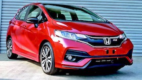 New Honda Jazz, makin agresif