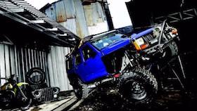 Jeep XJ Cherokee 1995, candu modifikasi