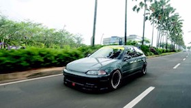 Honda Civic Estilo 1994, estilude
