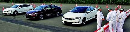 Honda Clarity, satu raga beda tenaga
