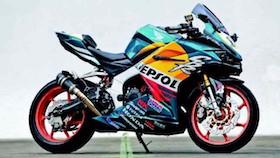 All New Honda CBR250RR, menolak sama