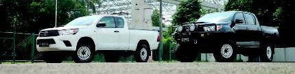 Toyota Hilux Extra Cab & Revo 2016, gaya sama peruntukan beda